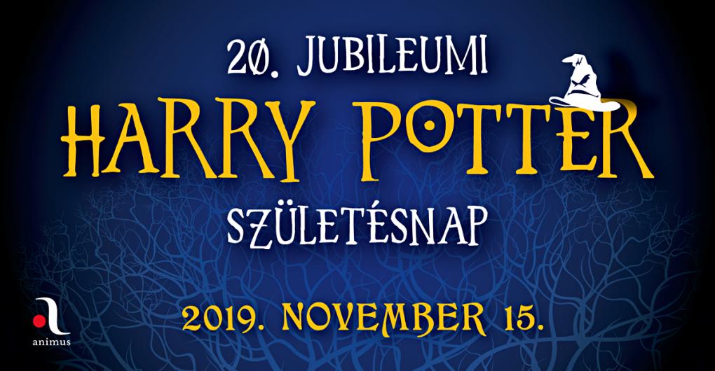 20. Jubileuimi Harry Potter születésnap