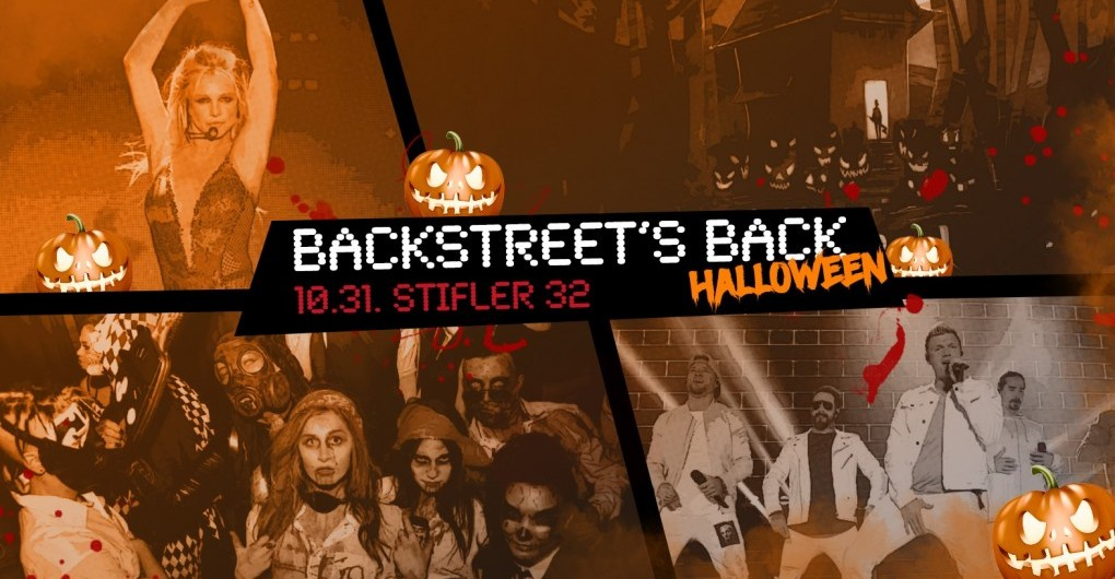 Backstreet's Back Halloween // 10.31.