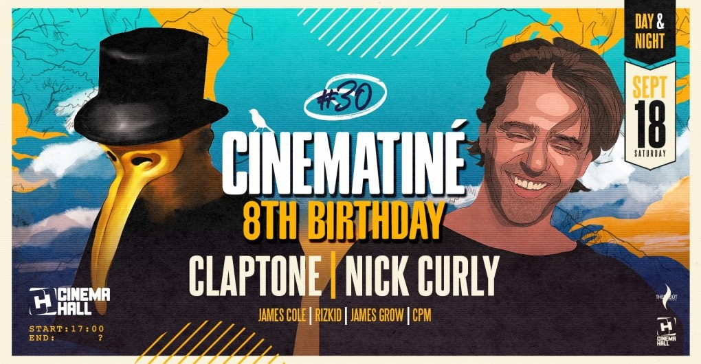 Claptone by The Debut #205 // 09.25.