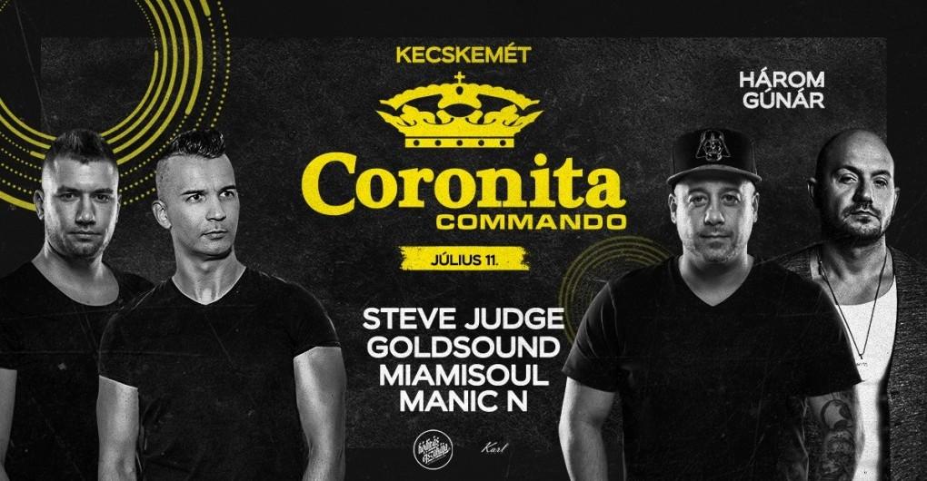 Coronita Commando - Kecskemét ► 07/11 │@Három Gúnár