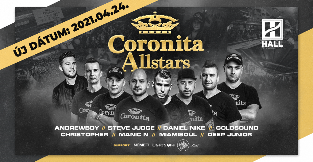 Coronita Allstars 2021.04.24. - Hall, Debrecen