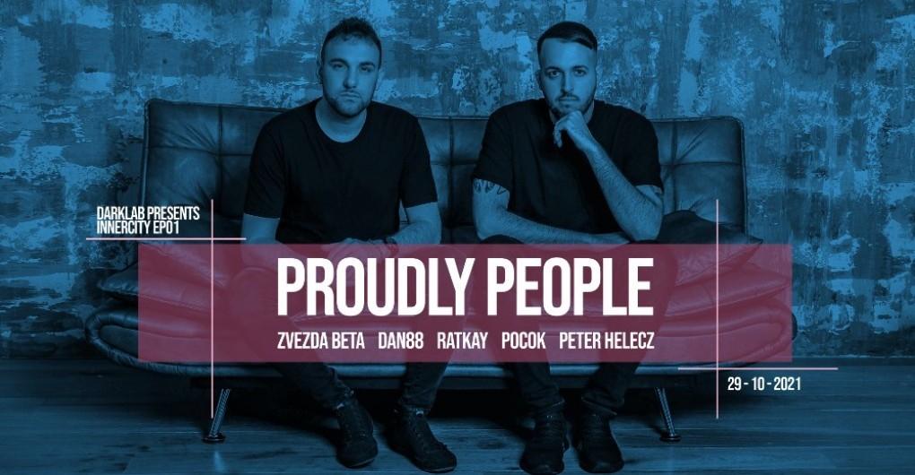 DARKLAB PRESENTS INNERCITY EP01 W/ PROUDLY PEOPLE (IT)