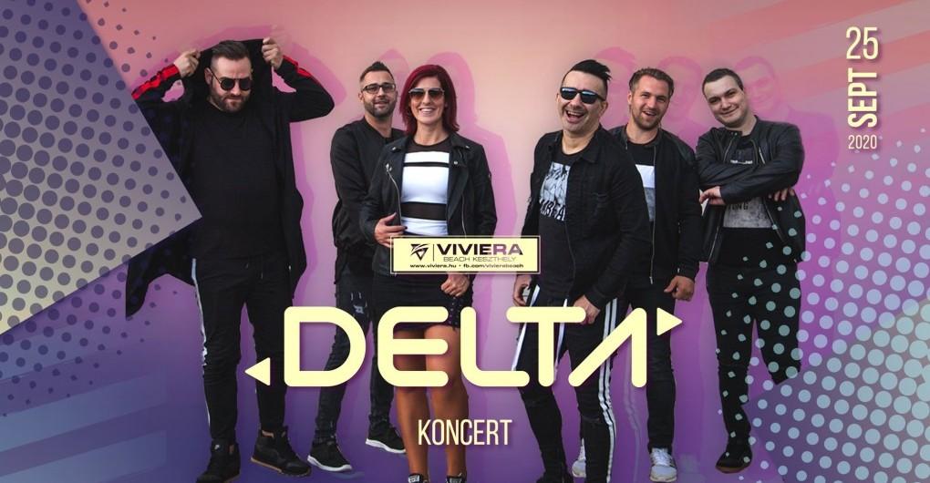 DELTA koncert ✘ 2020/09/25 ✘ Viviera Beach