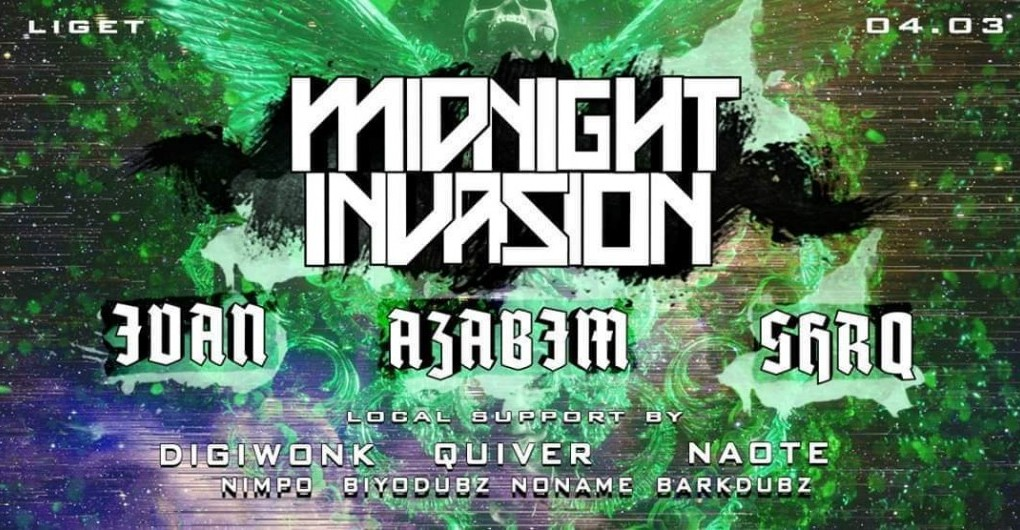 FRAT Midnight Invasion w/ Azabim / SHRQ / Ivan / 04.03.
