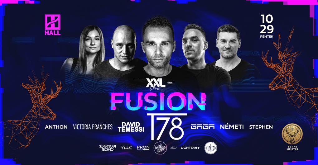 Fusion w/ T78 2021.10.29. - HALL, Debrecen