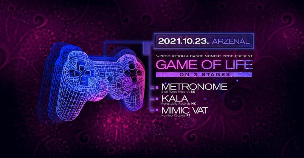 Game Of Life / Metronome - Mimic Vat - Kala // 10.23.