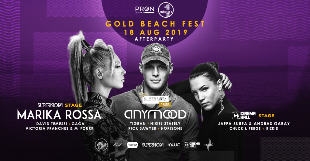 Gold Beach Fest Afterparty ✘ PLÁZS | #2019.08.18.