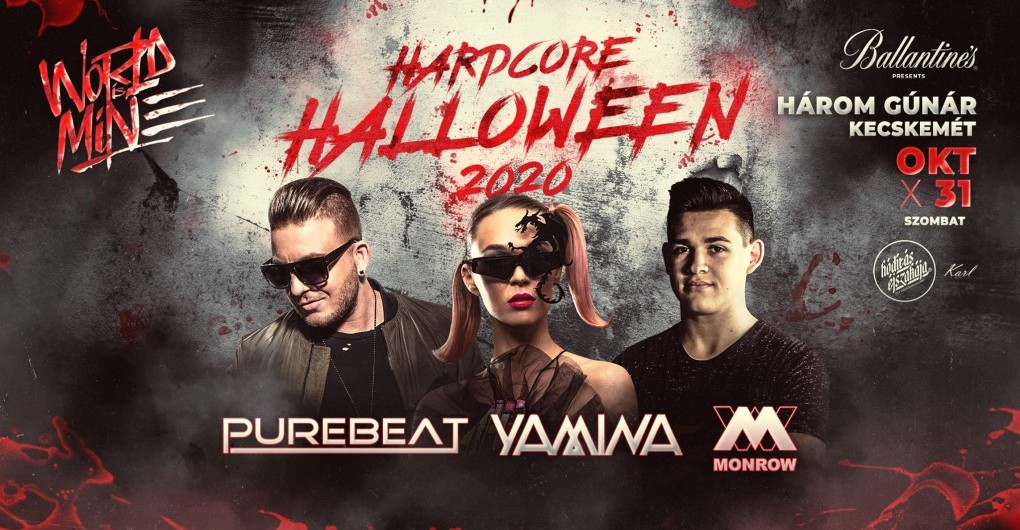 Hardcore Halloween 2020 « by WORLD IS MINE | Kecskemét