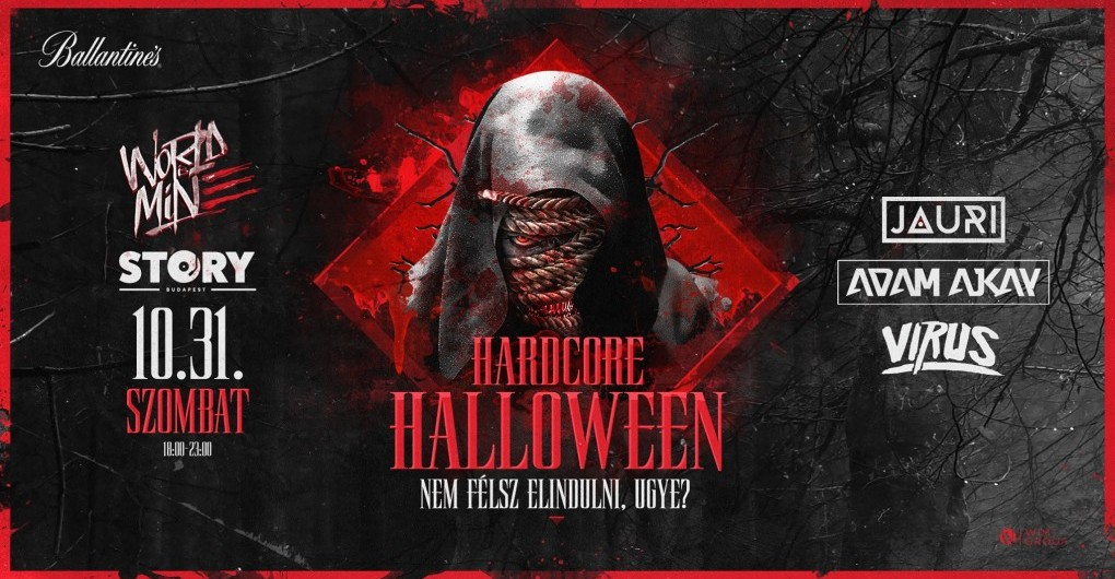 Hardcore Halloween 2020 « by WORLD IS MINE | Story Budapest // 10.31.