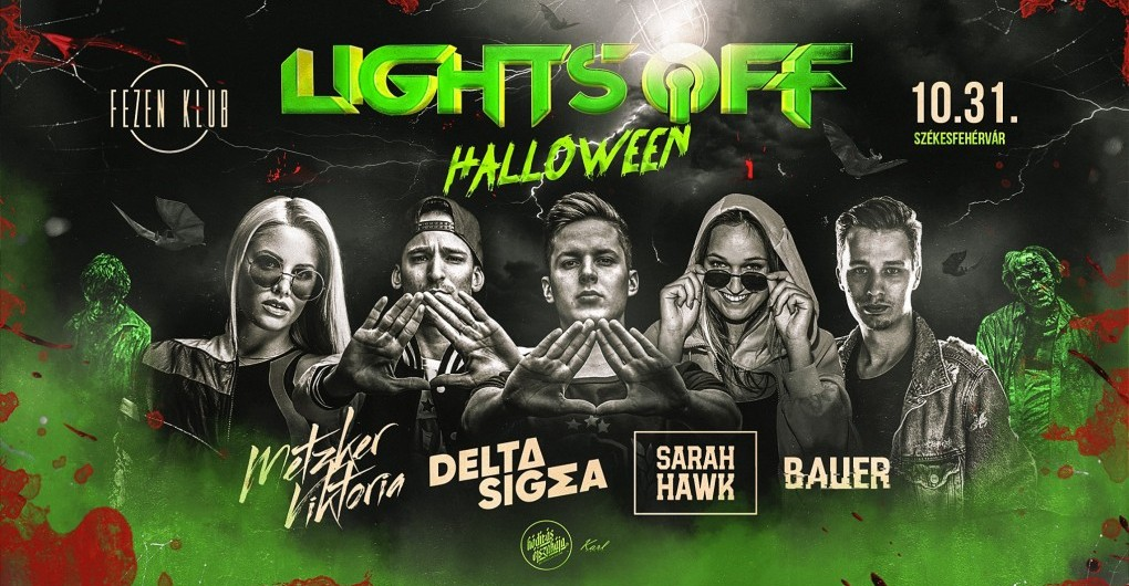 Lights Off x HALLOWEEN 10.31. - Fezen Klub