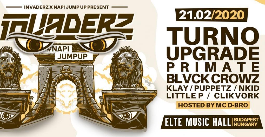 Napijumpup Invaderz Budapest // 02.21.