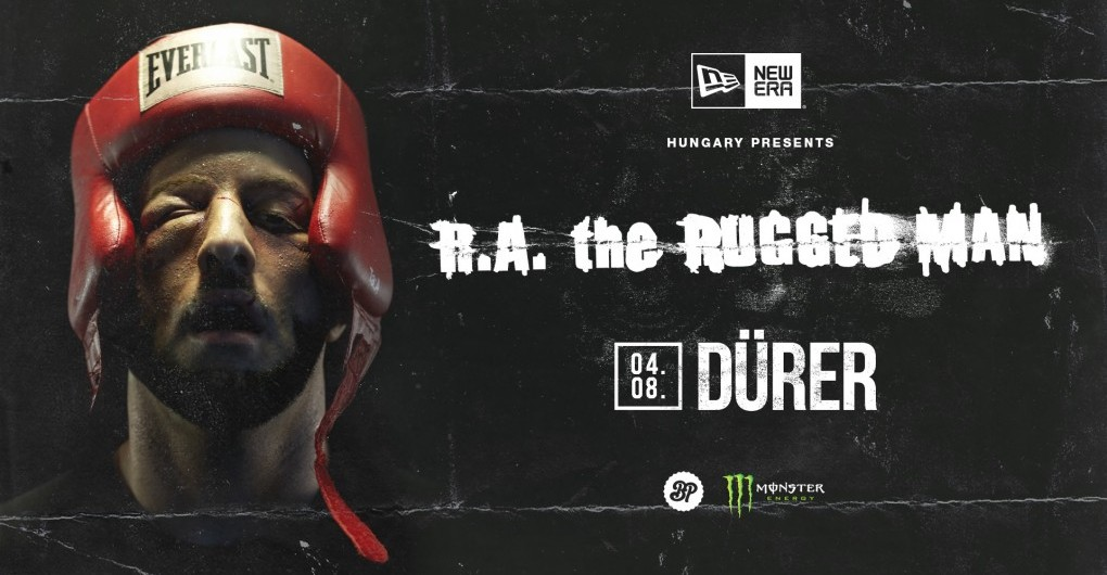 New Era Hungary presents: R.A. the Rugged Man (USA) // 04.08.