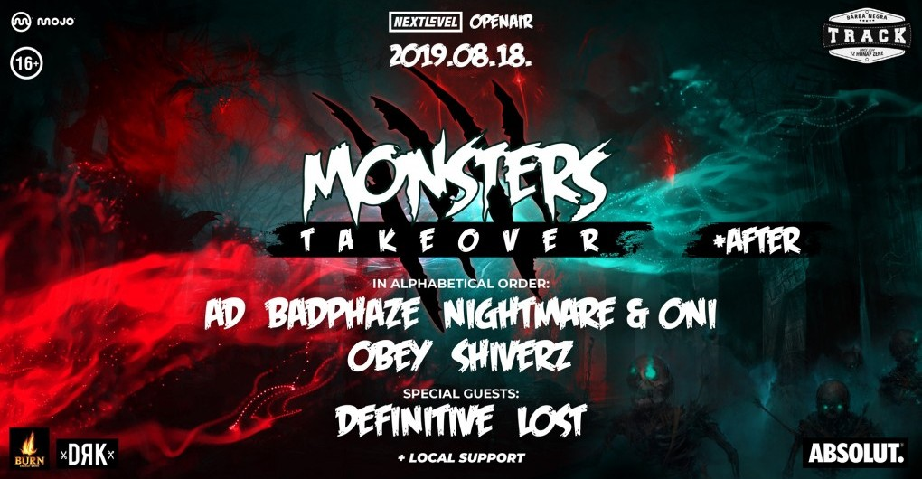 Next Level Openair ■ Monsters Takeover ■ 08/18