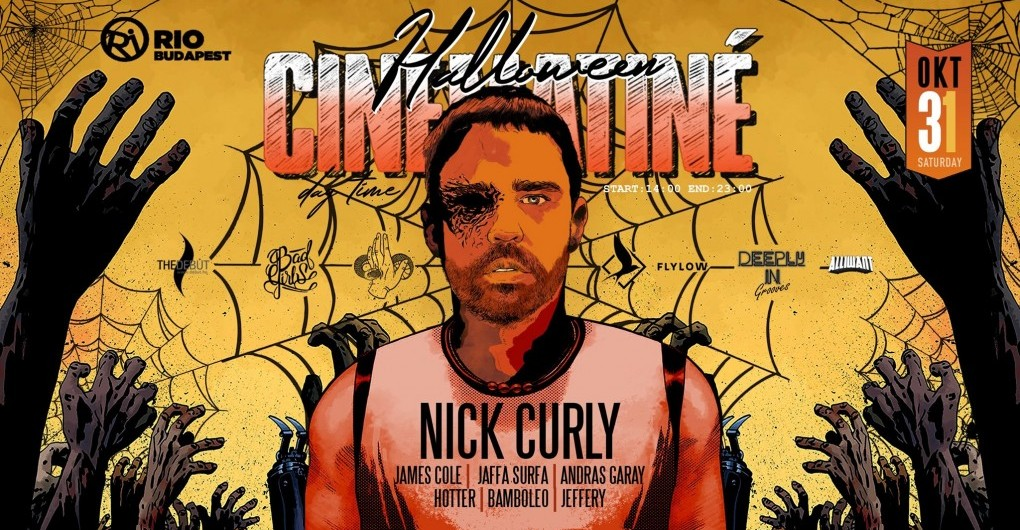 Nick Curly (extended set) x Cinematiné 028 // 10.31.