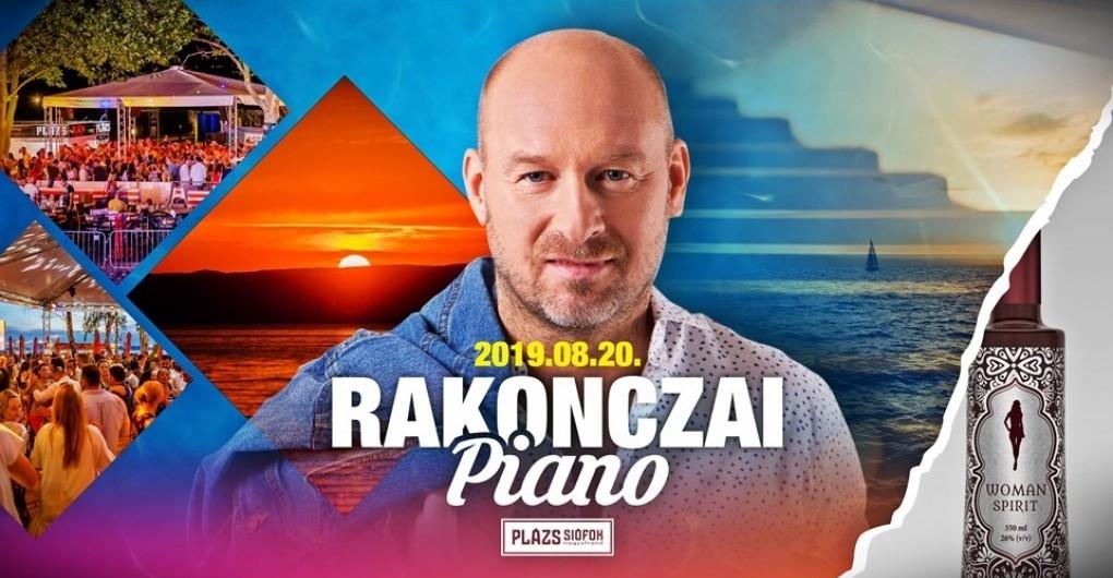 Rakonczai Piano // Plázs Siófok // 08.20.