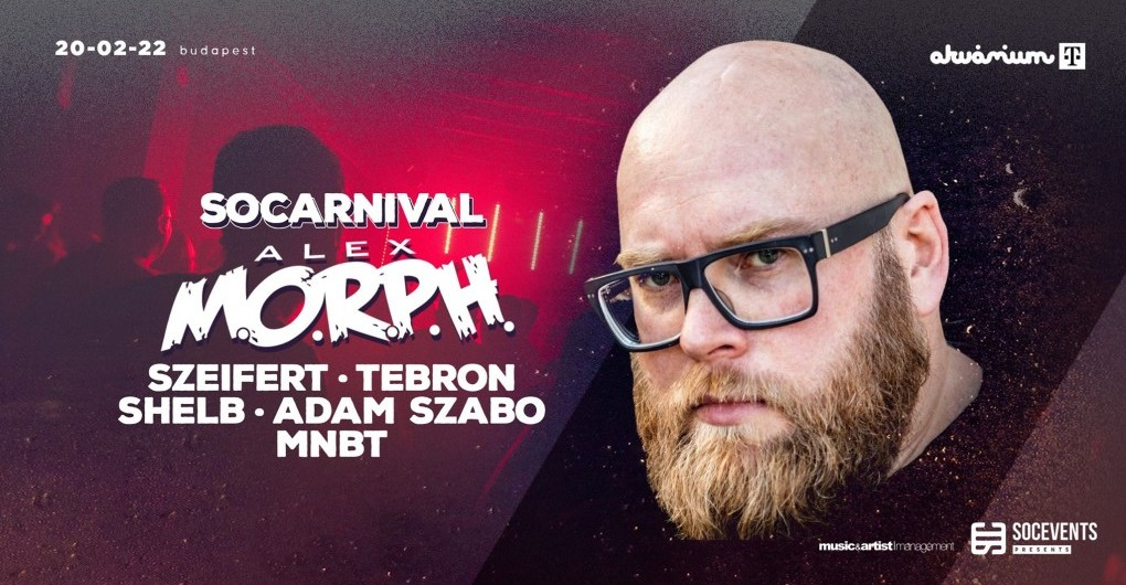 SOCarnival with Alex MORPH // 02.22.