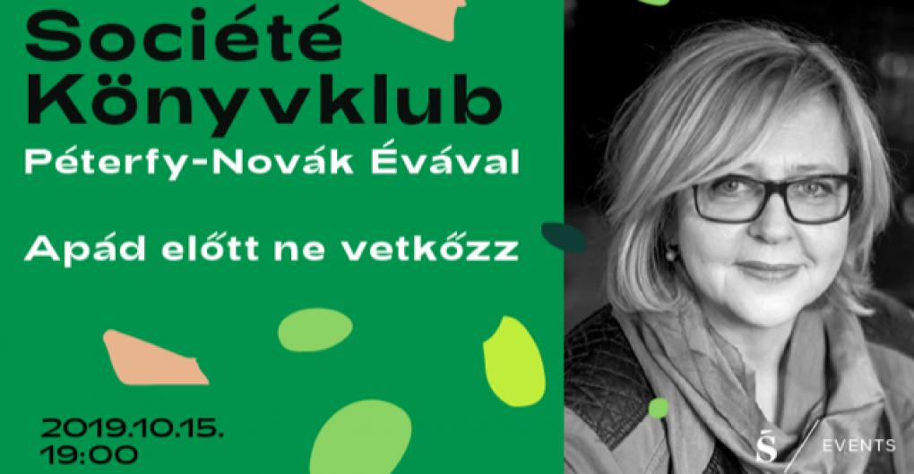 Société Könyvklub Péterfy Novák Évával