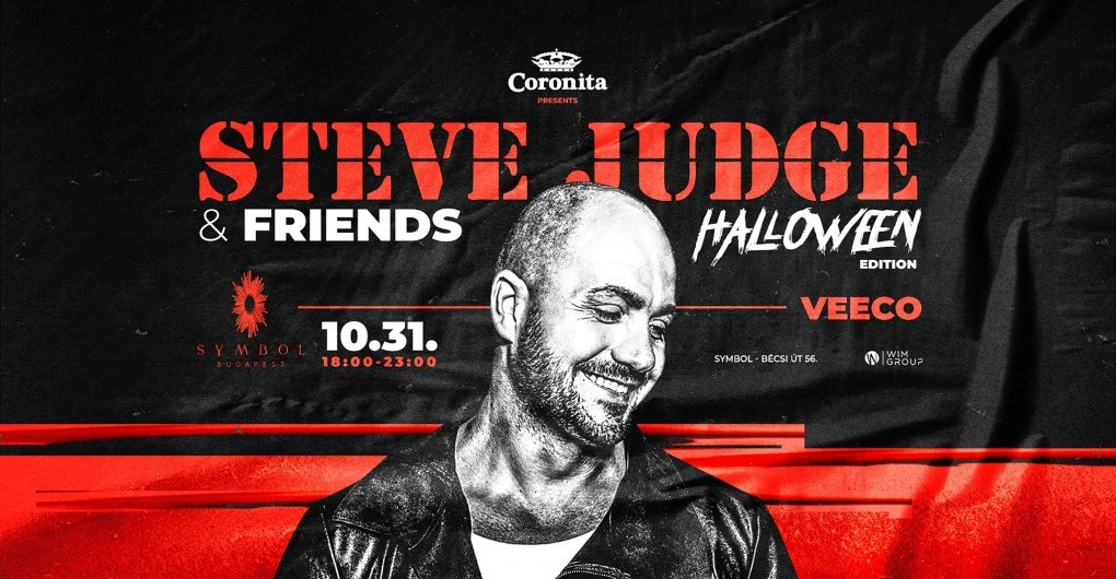 Steve Judge & Friends ✗ Halloween Edition | 10.31. | SYMBOL | 17:00-23:00