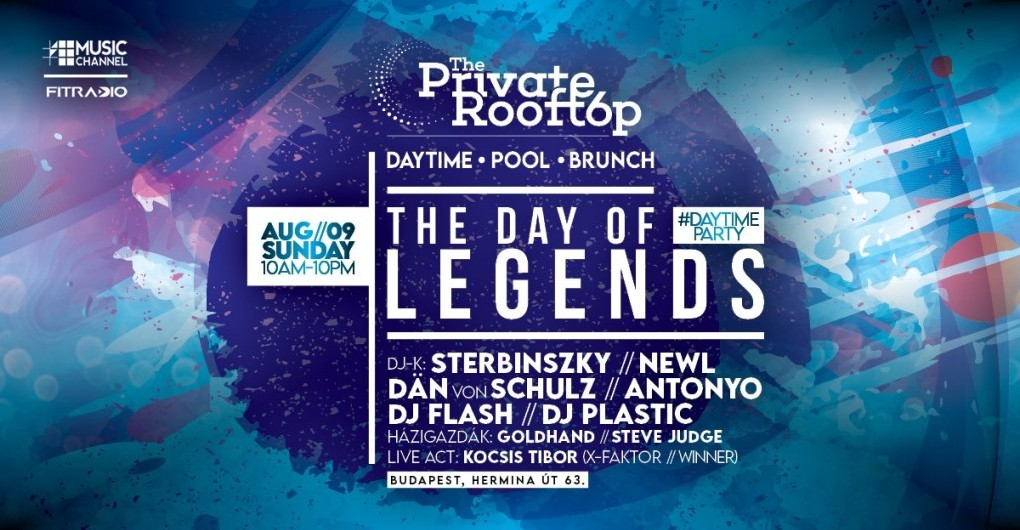 The Day of Legends X E06 #Daytime Pool Party ►08.09.