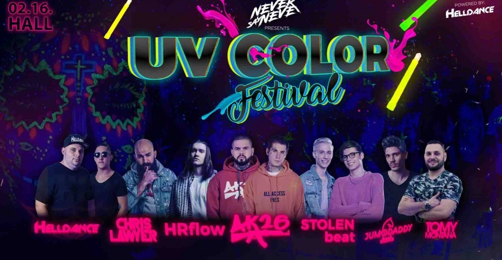 4f7b442a4f UV COLOR Festival / Debrecen / 2019.02.16 / HALL - OneTicket