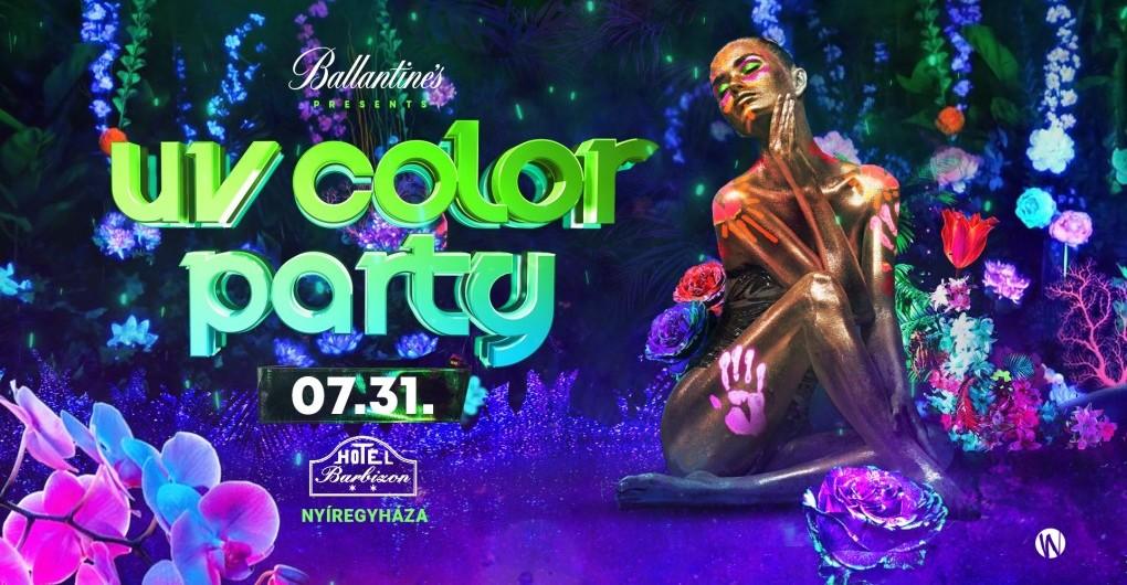 UV COLOR PARTY ➤ 2021/07/31 - Hotel Barbizon