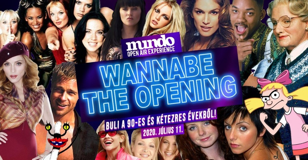 Wannabe Opening Mundo 2020 // 07.11.