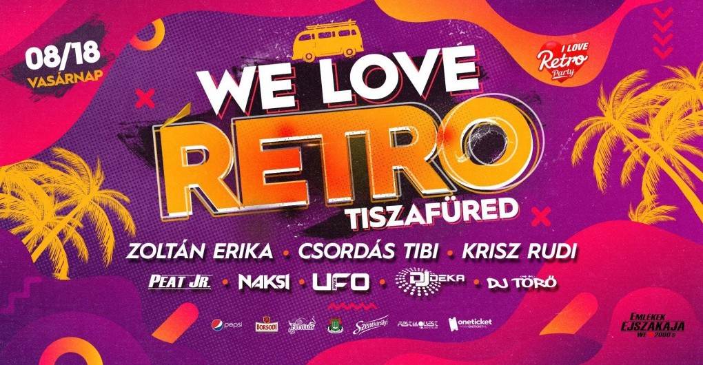 We Love RETRO // Tiszafüred