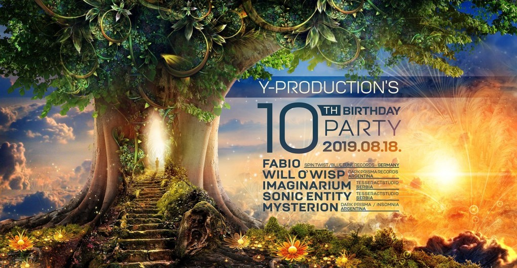 Y-Production's 10th birthday party /Day & Night/